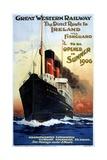 Great Western Railway Steamship Poster Giclee Print