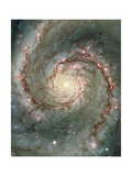 Center of the Whirlpool Galaxy Giclee Print