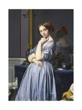 Comtesse D'Haussonville Giclee Print by Jean-Auguste-Dominique Ingres
