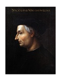 Portrait of Niccolo Machiavelli Giclee Print by Cristofano Dell'altissimo