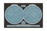 Celestial Map Giclee Print