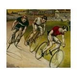 Bicycle Race Giclee Print