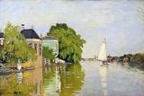 Houses on the Achterzaan Giclee-trykk av Claude Monet