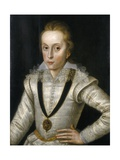 Portrait of Henry Frederick, Prince of Wales Giclee Print by Robert Peake The Elder