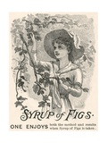 Syrup of Figs Advertisement Giclee Print