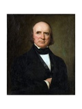 Portrait of Justice John Mclean Reproduction procédé giclée par George Peter Alexander Healy