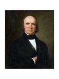 Portrait of Justice John Mclean Impression giclée par George Peter Alexander Healy