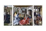 The Merode Altarpiece Giclee Print by Robert Campin