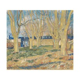 Le Train Bleu Giclee Print by Vincent van Gogh
