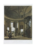 Interior of Radcliffe Observatory Giclee Print