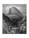 Dove Sent Forth from the Ark Giclee Print by Gustave Doré