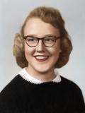 Young Woman Portrait, Ca. 1954 Photographic Print