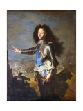 Louis De France, Duke of Burgundy Giclee Print by Hyacinthe Rigaud