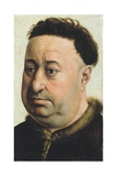 Portrait of a Fat Man Giclee Print by Robert Campin