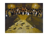 Rat-Catching at the Blue Anchor Tavern, Bunhill Row, Finsbury Giclee Print