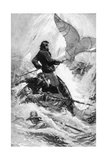 Book Illustration from Moby Dick Giclee Print by Isaac Walton Taber