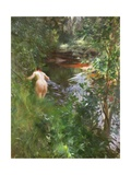 In Gopsmor (Nude by a Stream) Giclee Print by Anders Leonard Zorn