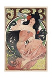 Job Cigarettes Poster Giclee Print by Alphonse Mucha
