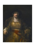 Self-Portrait Giclee Print by  Rembrandt van Rijn