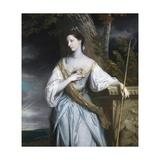 Anne Dashwood, Countess of Galloway Giclee Print by Sir Joshua Reynolds