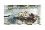 The Betrothed Giclee Print by John William Godward