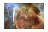 Light and Shadow in the Carina Nebula Giclee Print