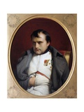 Napoleon in Fontainebleau Giclee Print by Paul Delaroche