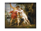 Venus and Adonis Giclee Print by Peter Paul Rubens