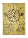 Shamsa from a Diwan-I Anvari Owned by Jahangir Giclee Print