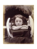 I Wait (Rachel Gurney as an Angel) Giclee Print by Julia Margaret Cameron