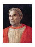 Cardinal Lodovico Trevisano Giclee Print by Andrea Mantegna