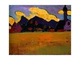 Landscape Near Marnau Giclee Print by Alexej Von Jawlensky