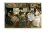 The Bayswater Omnibus Giclee Print by George William Joy