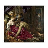 Samson and Delilah Giclee Print by Peter Paul Rubens