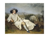 Goethe in the Roman Campagna Giclee Print by Johann H.W. Tischbein