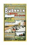 Great Western Railway Breezy Burnham Poster Giclee Print