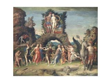 Parnassus (Mars and Venus) Giclee Print by Andrea Mantegna