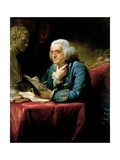 Benjamin Franklin Giclee Print by David Martin