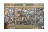 Constantine's Vision of the Cross Giclee Print by  Raphael