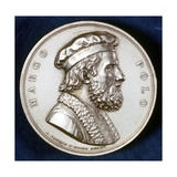 Medal with Marco Polo Giclee Print