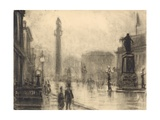 The Monument, London Giclee Print by Joseph Pennell