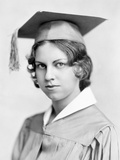 Young Woman High School Graduation Portrait, Ca. 1931 Photographic Print