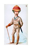 Caricature of Viscount Wolseley Giclee Print