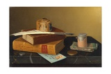 The Banker's Table Giclee Print by William Michael Harnett