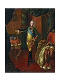 Peter III Emperor of Russia Giclee Print by Aleksey Antropov