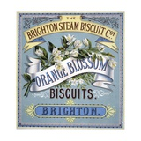 Orange Blossom Biscuits Advertisement Giclee Print
