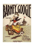 Barney Google Fox Trot Sheet Music Cover Giclee Print