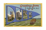 Greeting Card from Duke University Giclee Print