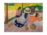The Siesta Giclee Print by Paul Gauguin