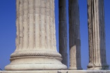 Ionic Marble Columns of the Erechtheion Photographic Print by Paul Souders